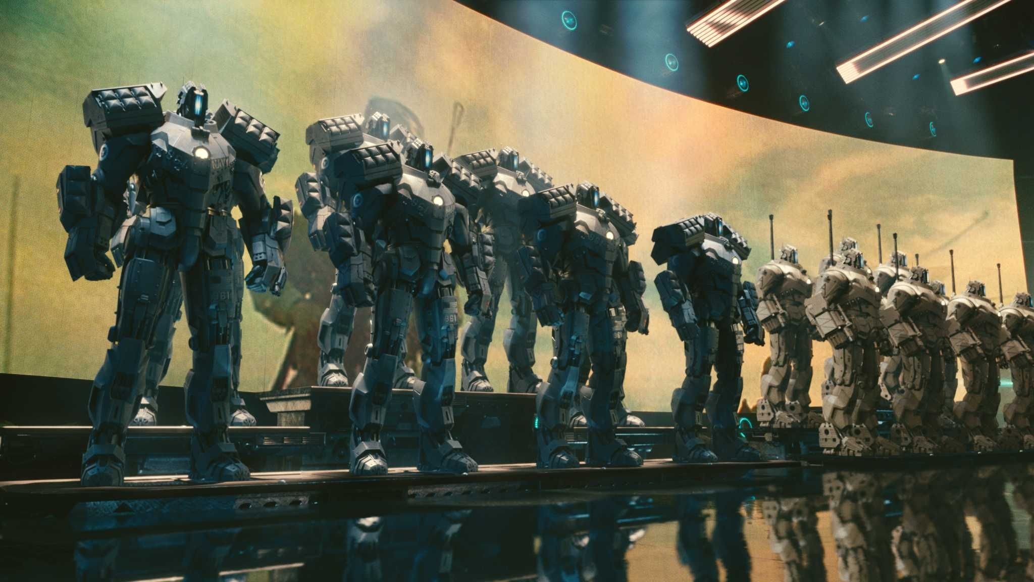 Killer Robots Army That is Killer Robots That